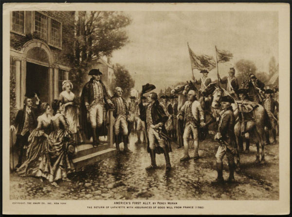 The Marquis de Lafayette, a 'Citizen of Two Worlds'